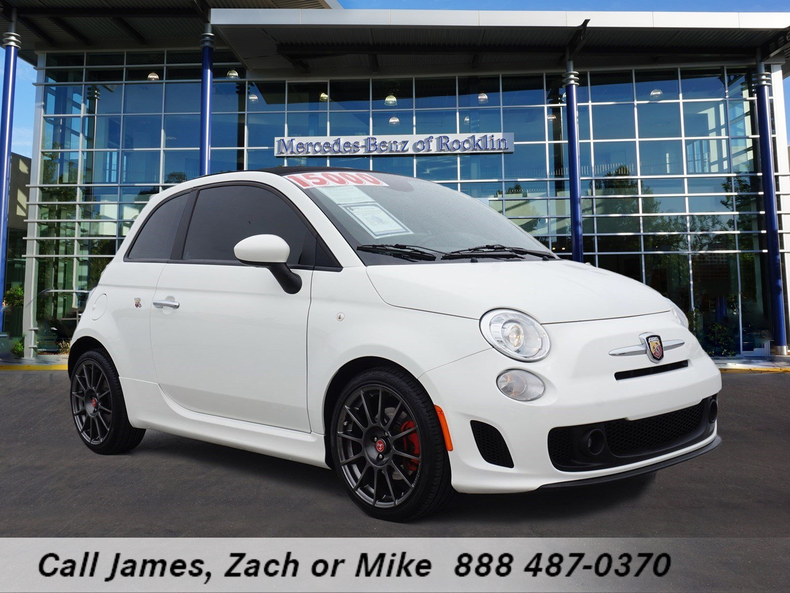 pre owned 2013 fiat 500 abarth convertible in rocklin u8833 mercedes benz of rocklin. Black Bedroom Furniture Sets. Home Design Ideas