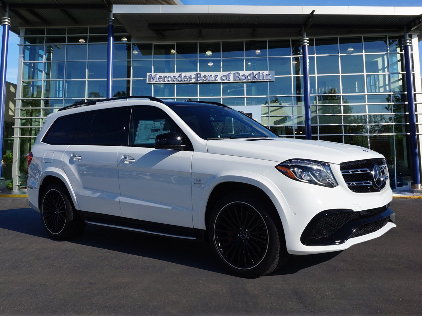 New 2017 mercedes benz gls amg gls63 sport utility in for Mercedes benz rocklin service