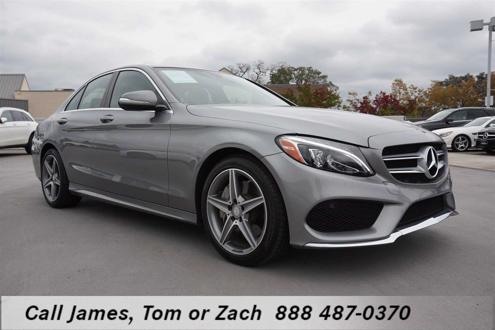 Certified pre owned 2015 mercedes benz c class c300 4dr for Mercedes benz c class pre owned