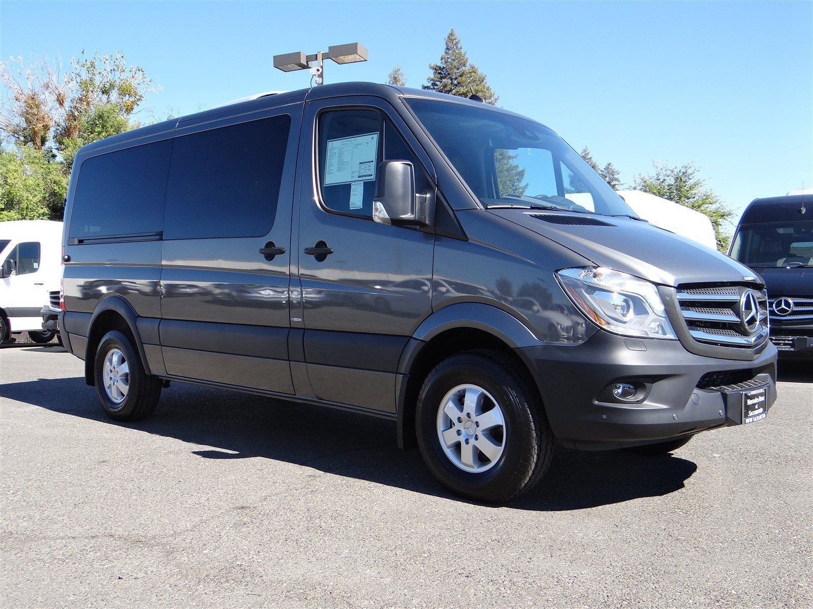 New 2016 mercedes benz sprinter passenger vans full size for 7 passenger mercedes benz