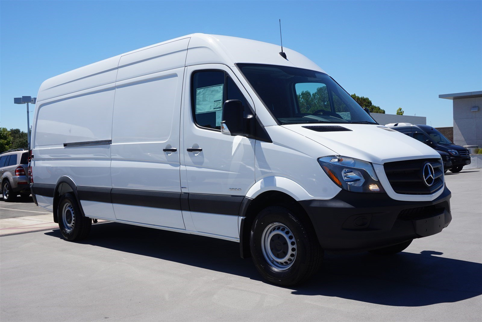 New 2016 mercedes benz sprinter cargo van in rocklin for Mercedes benz sprinter cargo van