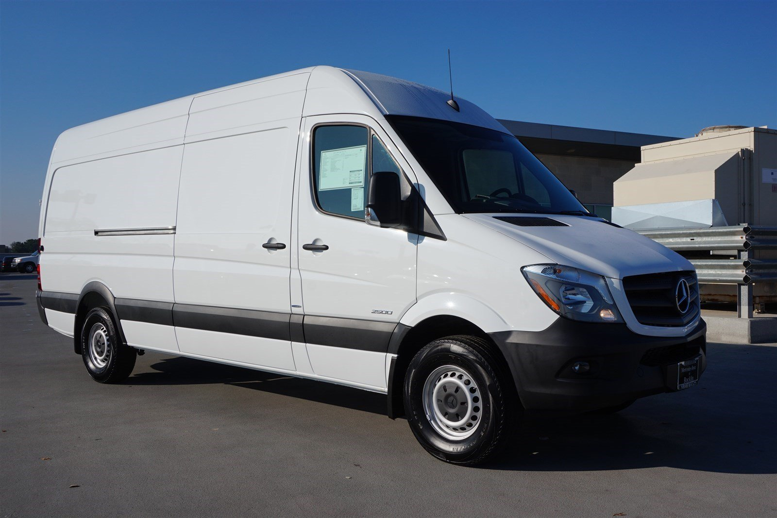 New 2016 mercedes benz sprinter cargo vans m2ca170 full for Mercedes benz work vans