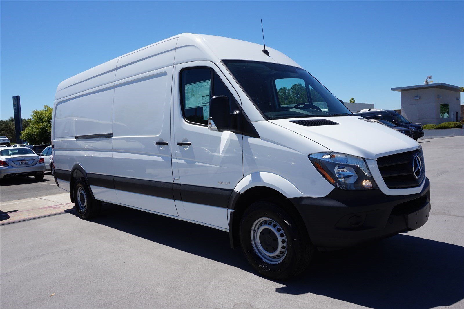 New 2016 mercedes benz sprinter cargo van in rocklin for Sprinter mercedes benz 2016