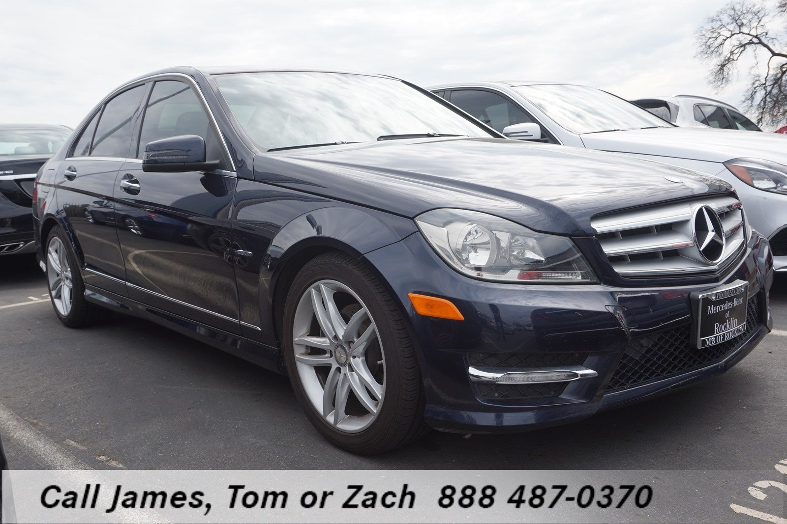 Pre owned 2012 mercedes benz c class c250w 4dr car in for Mercedes benz c class pre owned