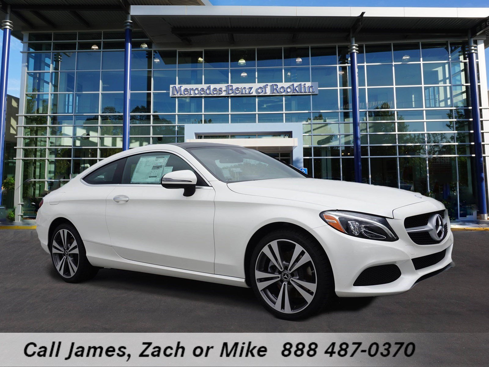 New 2017 mercedes benz c class c 300 coupe in rocklin for Mercedes benz rocklin service