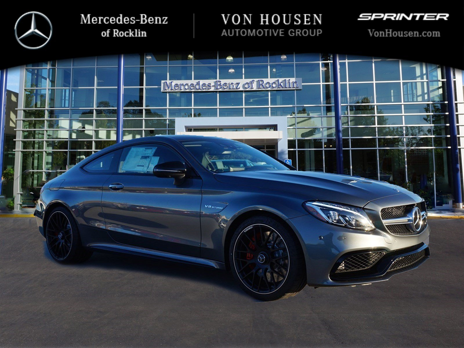 New 2017 mercedes benz c class amg c63 s 2dr car in for Mercedes benz rocklin service