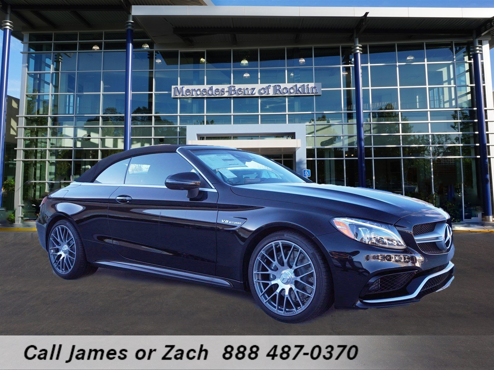New 2017 mercedes benz c class c 63 amg cabriolet for Mercedes benz rocklin service